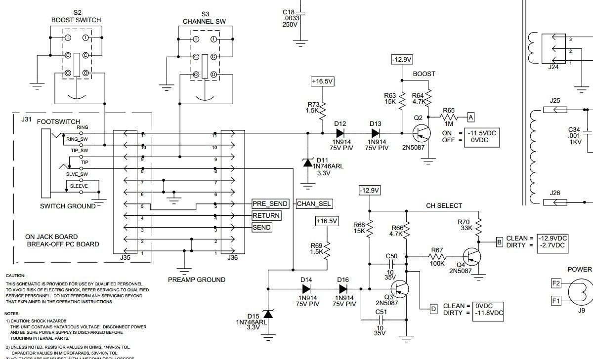 [SCHEMATICS_48IU]  Crate V32 Foot Switch – Aperio Guitar | Aperio Wiring Diagram |  | Aperio Guitar